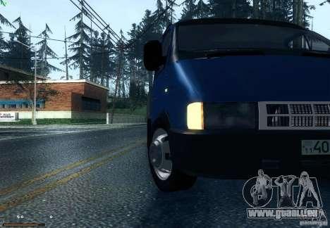 Gazelle 33021 pour GTA San Andreas vue de droite