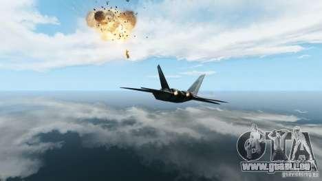 Air Combat IV pour GTA 4 quatrième écran