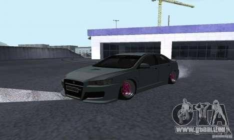 Proton Inspira Camber Edition pour GTA San Andreas sur la vue arrière gauche