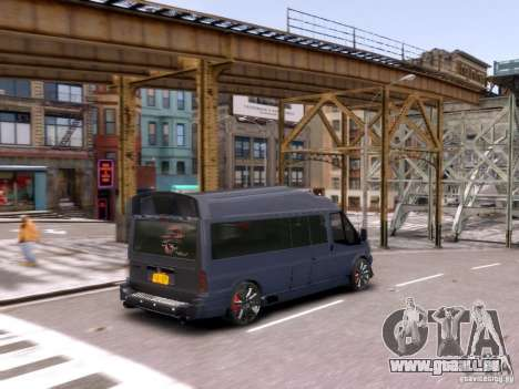 Ford Transit Sport Edition RV 2013 pour GTA 4 est un côté