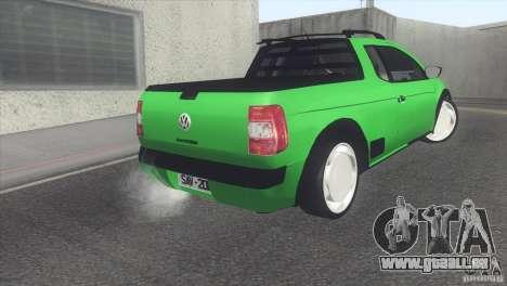Volkswagen Saveiro 2013 pour GTA San Andreas vue de droite