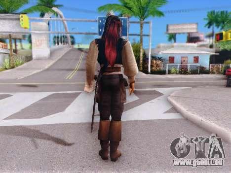 Jack Sparrow für GTA San Andreas dritten Screenshot
