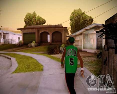 Skins pack gang Grove pour GTA San Andreas deuxième écran