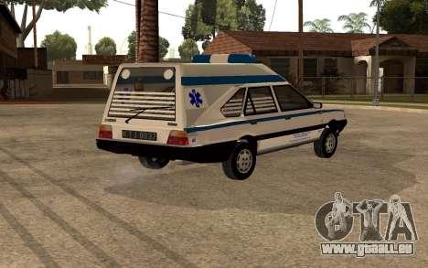FSO Polonez Cargo MR94 Ambulance für GTA San Andreas rechten Ansicht