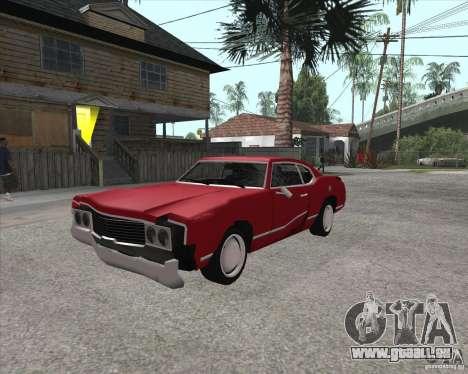 Sabre HD pour GTA San Andreas vue arrière