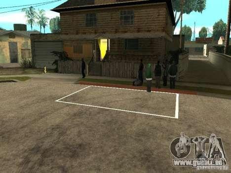 Parking Save Garages pour GTA San Andreas