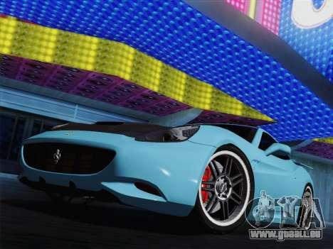 Ferrari California für GTA San Andreas Räder