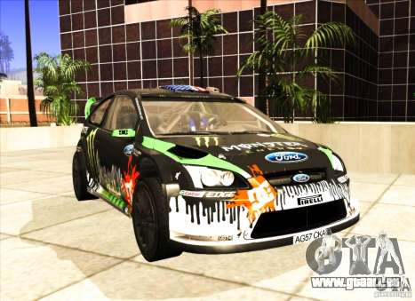 Ford Focus RS 2000 pour GTA San Andreas