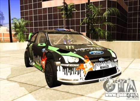 Ford Focus RS 2000 für GTA San Andreas