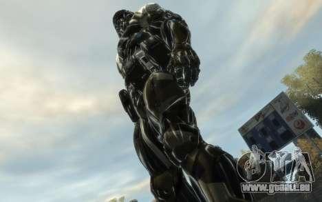 Crysis 3 The Hunter skin für GTA 4 dritte Screenshot