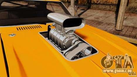 Dodge Charger RT 1970 pour GTA 4 est un droit