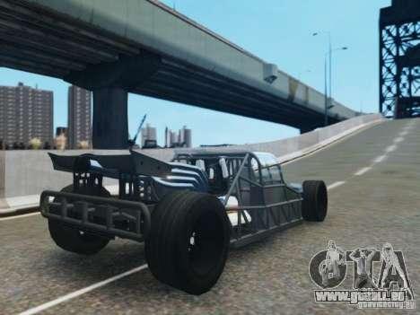 Villain The Fast and the Furious 6 für GTA 4 hinten links Ansicht