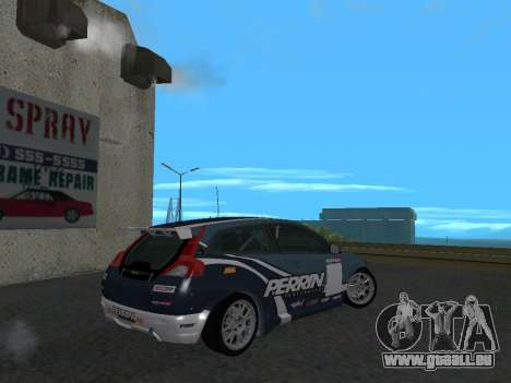 Volvo C30 Race pour GTA San Andreas laissé vue