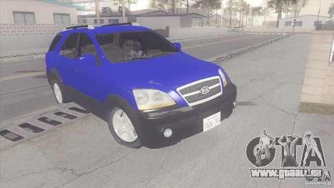 Kia Sorento für GTA San Andreas linke Ansicht