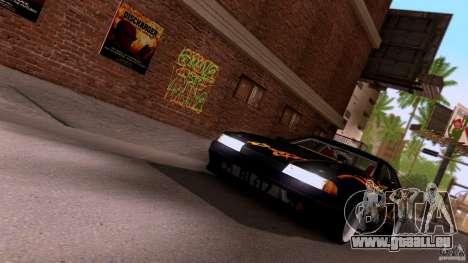 SA Beautiful Realistic Graphics 1.3 pour GTA San Andreas quatrième écran