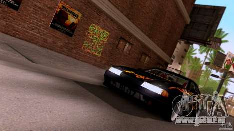 SA Beautiful Realistic Graphics 1.3 für GTA San Andreas her Screenshot