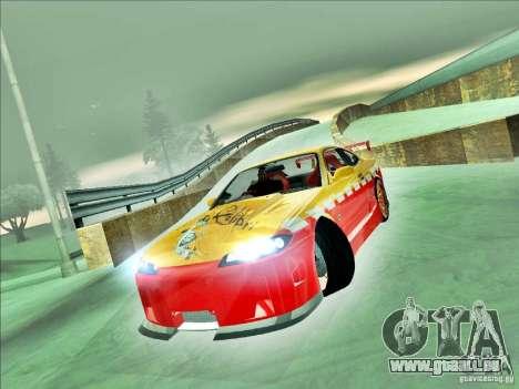 Nissan Silvia S15 Calibri-Ace pour GTA San Andreas sur la vue arrière gauche