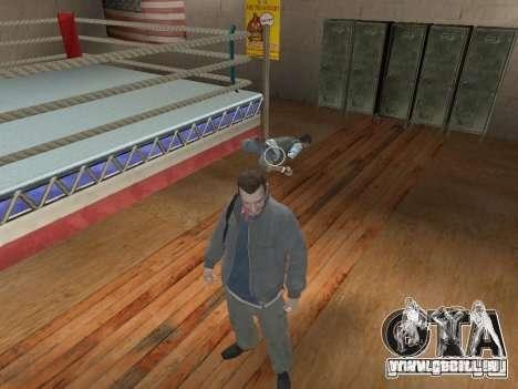 Das System kämpft von GTA IV V 2.0 für GTA San Andreas zweiten Screenshot