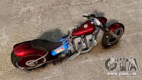 Dragbike Street Racer für GTA 4 rechte Ansicht
