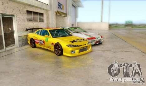 Nissan Skyline GT-R32 BadAss für GTA San Andreas