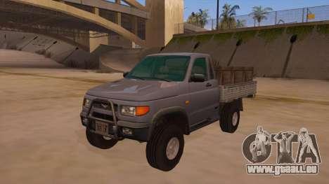 UAZ-2360 für GTA San Andreas Seitenansicht