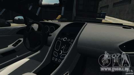 Aston Martin Vanquish 2013 pour GTA 4 est une vue de l'intérieur