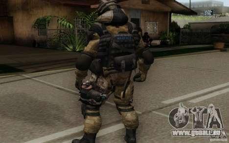 Le médecin de Warface pour GTA San Andreas troisième écran