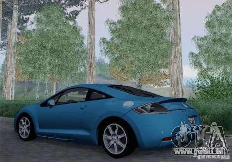 Mitsubishi Eclipse GT V6 pour GTA San Andreas vue arrière
