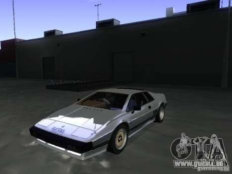 Lotus Esprit Turbo pour GTA San Andreas