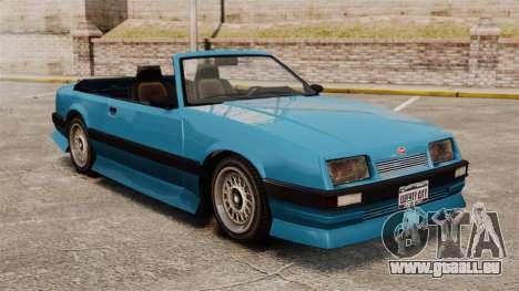 Uranus-Cabrio für GTA 4