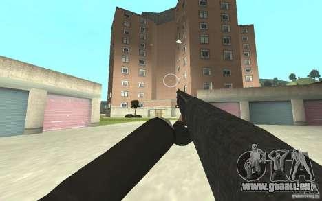 Nouvelle animation de GTA IV pour GTA San Andreas deuxième écran