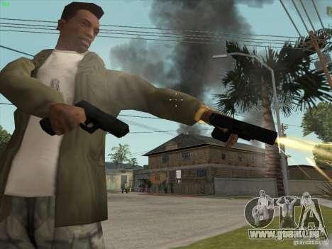 Pistolet G18 pour GTA San Andreas