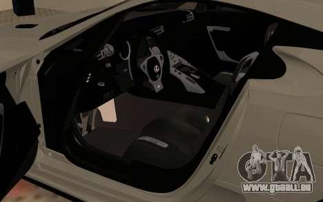 Lexus LFA AutoVista 2010 für GTA San Andreas Rückansicht