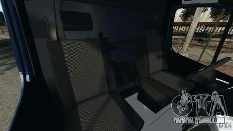 Mercedes-Benz Sprinter G4S ES Cash Transporter für GTA 4 Innenansicht
