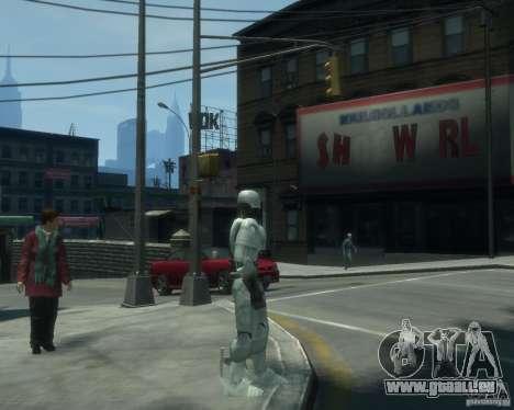 Haut-Robokopa für GTA 4 Sekunden Bildschirm