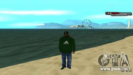 Sweet pour GTA San Andreas cinquième écran