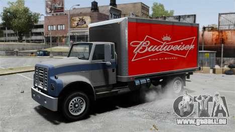 La nouvelle publicité pour camion Yankee pour GTA 4 Vue arrière de la gauche