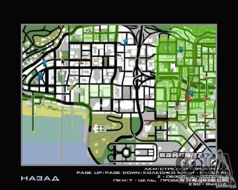 Neue HUD für GTA San Andreas zweiten Screenshot