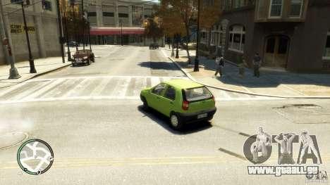 Fiat Palio pour GTA 4 est une gauche