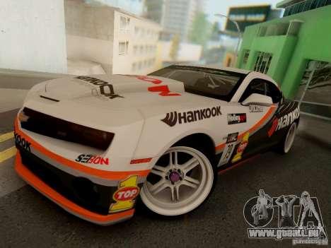 Chevrolet Camaro Hankook Tire pour GTA San Andreas