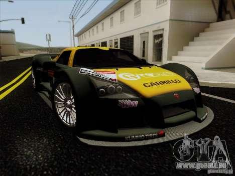 Gumpert Apollo 2005 für GTA San Andreas Seitenansicht