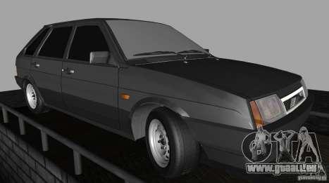 VAZ 2109 Drain für GTA San Andreas Rückansicht