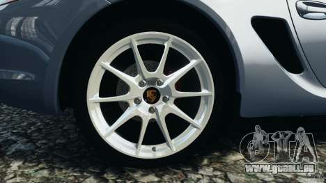 Porsche Cayman R 2012 pour GTA 4 est un côté