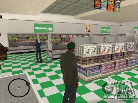 Nouveaux restaurants de textures pour GTA San Andreas troisième écran