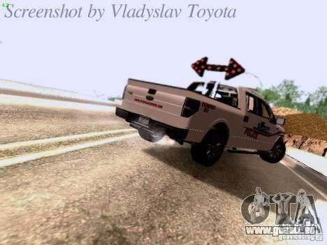 Ford F-150 Road Sheriff pour GTA San Andreas vue de droite