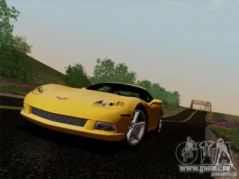 Chevrolet Corvette Z51 für GTA San Andreas