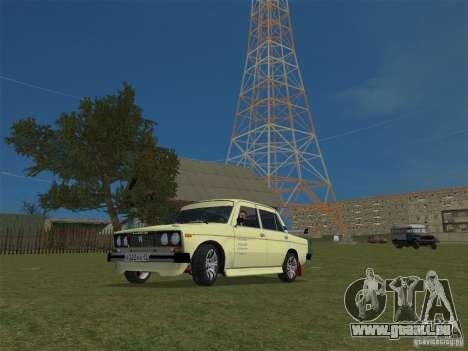 VAZ 2106 Sparco Tuning für GTA Vice City rechten Ansicht