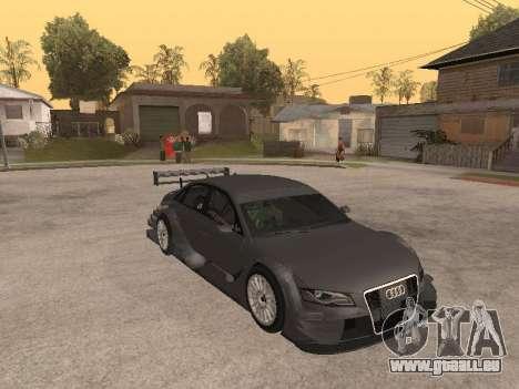 Audi A4 Touring pour GTA San Andreas vue intérieure