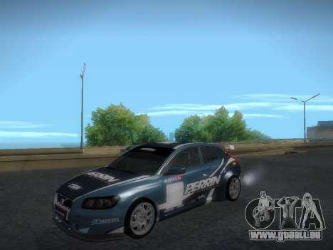 Volvo C30 Race pour GTA San Andreas vue intérieure
