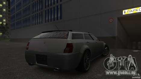 PMP600 Sport Wagon pour GTA 4 Vue arrière